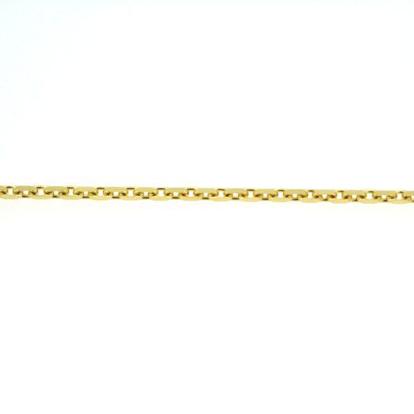 14kt. ankerarmband 18cm x 2mm