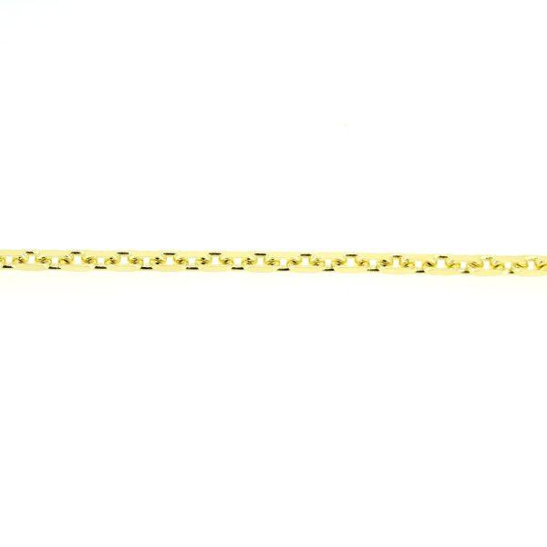 8kt. ankerarmband 19cm x 3mm