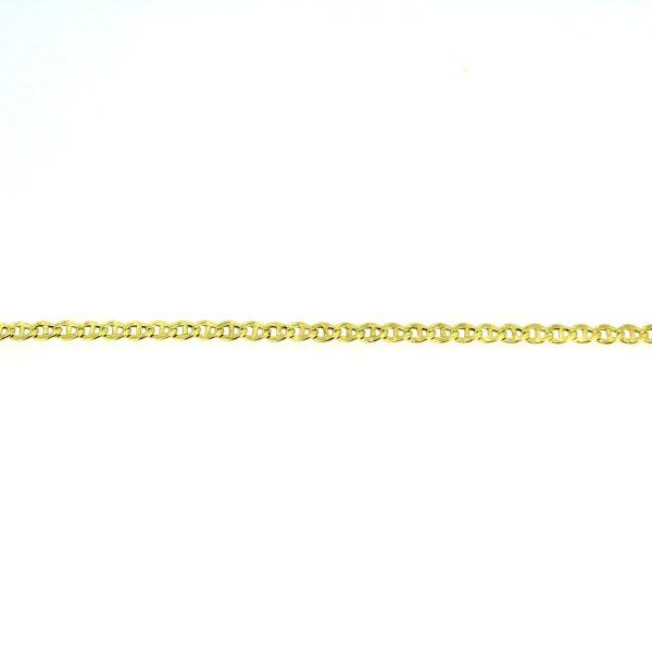 8kt. schakelarmband met karabijnslot