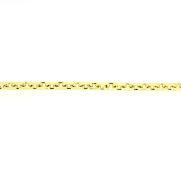 8kt. ankerarmband 17cm x 4mm